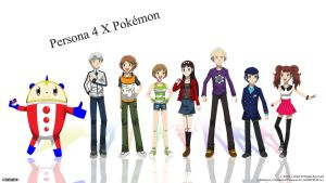 Persona 4 X Pokemon - Investigation Team by Blue90