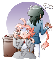 Fakiru Week 2013 - Hair-Raising Mistake by amako-chan