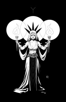 Hecate from Romulus by NelsonBlakeII