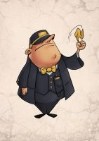 Ticket Inspector Concept by akenator