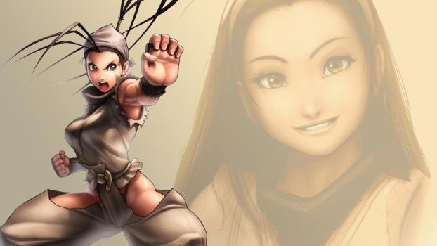 Ibuki hairdown wallpaper by The-Red-Jack03