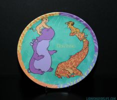 Lion King Plastic Plate by LionKingForLife