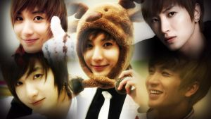 Leeteuk Collage {Happy Holidays} by DarkJinxify
