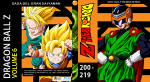 Dragon Ball Z Blu-ray cover Volume 6 by PhysicsAndMore