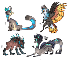 5 Dollar designs Sold by griffsnuff