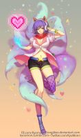 [Commisson] Arcade Ahri by SongJiKyo