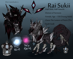 Rai's ref by FellenSukii
