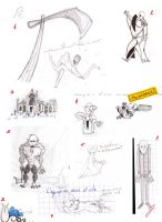 Vampires Course Sketches by jusbrublis