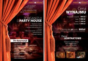 PartyHouse flyer by WildDawid