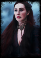 Melissandre - Game of Thrones by JaggysnakeArt