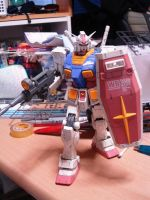 GUNDAM, Standing on the earth by sharingandevil