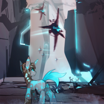 My Little StarCitizen: Xi'An Crystal Pony Empire by FoxInShadow