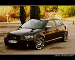 Audi A3 Black Edition by TimeBerlin