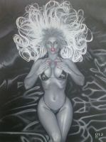 Lady Death. by BlackLabelArt