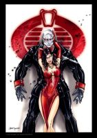 GI JOE Destro Baroness  formal by jamietyndall