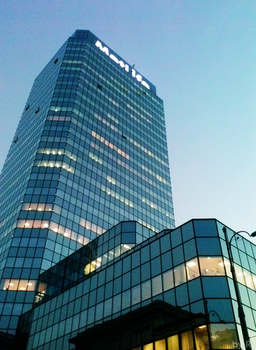 Warsaw Blue Tower by rokicza