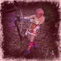 Serah Farron Final Fantasy XIII-2 Cosplay by smallrinilady