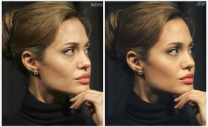 Angelina Jolie 7 by ArtSlash13