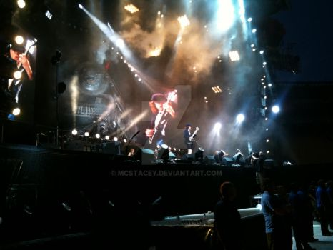 Angus Young Shredin' by McStacey