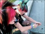 zoukily and heather punk hairs by zoukily2
