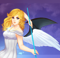 demangel--angelmon by peeps4tea