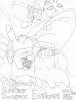 Explorers of the Sky-Lineart by Carurisa