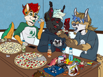 Pizza Challenge by RottingRoot