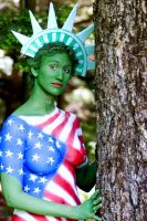 Lady Liberty 3 by BareBeautyBodypaint