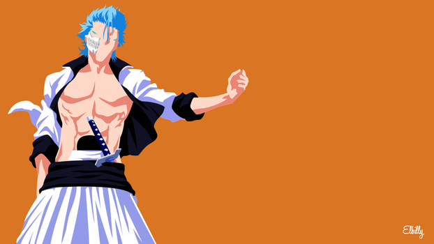 Grimmjow Jaegerjaques Minimalist by elbillyy