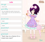 Lolita contest entry- Laila by aiyume10