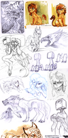Sketch dump 53 by LiLaiRa