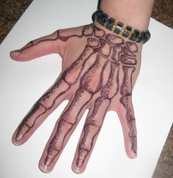 Skelly Hand 1 by TakShadoWing