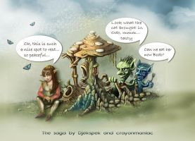 the saga continues by DJekspek and Crayon... by crayonmaniac