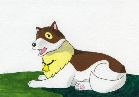 Dog of Flanders by crawdadEmily