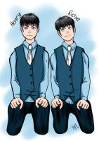 Henry and Richie by NotYourTherapist