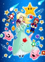 Super Mario Galaxy by Nuran-Cawthorne