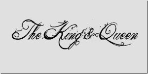 The King and Queen Font by ILovePS