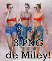 Miley Cyrus PNG by CarliitahEditions