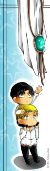 bookmark Erwin and Levi by ShikuChan