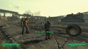 Fallout 3: Dangerous Tire by RustyRaccoon