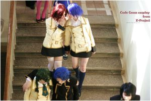 CODE GEASS:ASHFORDs GIRLS by KoujiAlone