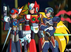 MegamanX, Command Missions. by silentbobx