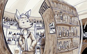 The Beer Store by sonderjen