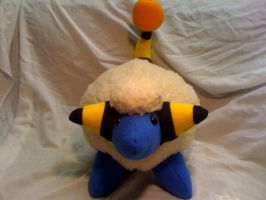 Mareep plush by LRK-Creations