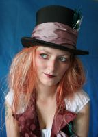 Lady Mad Hatter Portrait 4 by mizzd-stock