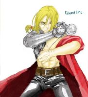 Edward Elric by ChrisWollf