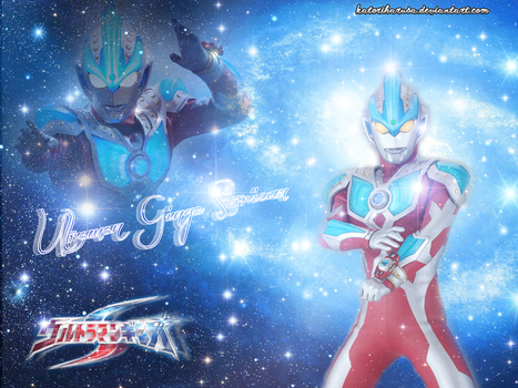 Ultraman Ginga Storium Wallpaper by katoriharusa