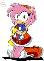 My first Amy pic by thunderfoxjt