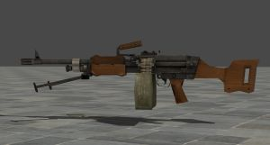 Re6 Light Machine Gun by zeushk