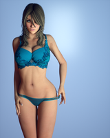 Blue. by Erah3D